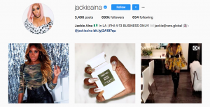 Social media beauty and fashion influencer list