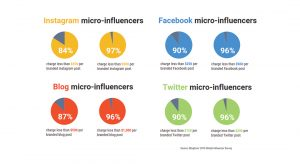 Cost of micro-influencers