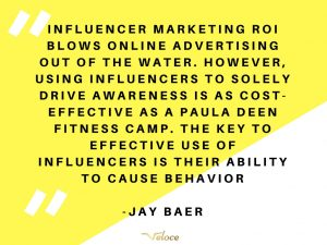 Quote influencer marketing