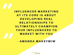 influencer marketing relationships