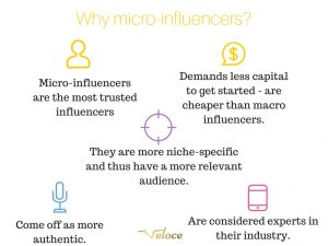 What is a micro-influencer